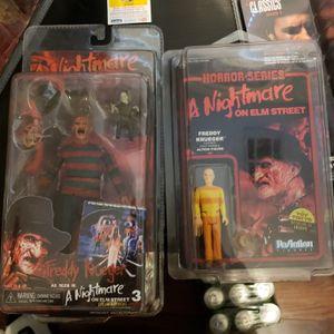 Freddy krueger action figures for Sale in Las Vegas, NV