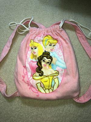Beach Towel Backpack- Disney Princess for Sale in Lorton, VA