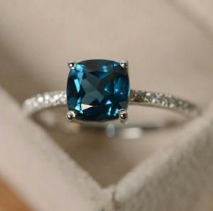 Sapphire/Peacock Blue/Emerald/Aquamarine Ring for Sale in Wichita, KS