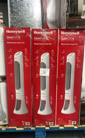 New HONEYWELL TOWER TOWER FAN WITH REMOTE for Sale in Grand Prairie, TX