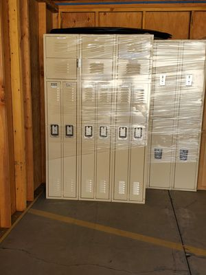 STORAGE METAL LOCKERS for Sale in Fresno, CA