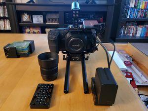 Blackmagic 4k pocket cinema camera BMPCC4K MFT full rig bundle lumix 25mm lens small rig micro four thirds for Sale in North Attleborough, MA