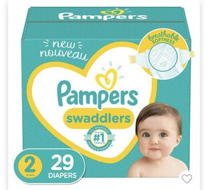 Pampers Swaddlers Diapers - Size 2 - 29ct💥💥 for Sale in Houston, TX
