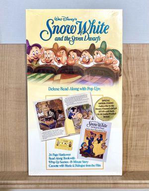 Walt Disney's Snow White & The Seven Dwarfs Pop-Up Book Read Along Cassette for Sale in Redondo Beach, CA