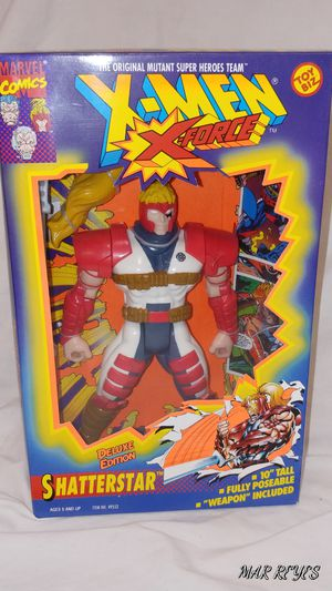 "X-FORCE ""SHATTERSTAR"" 10 Inch figure by Toy Biz for Sale in Queens, NY"