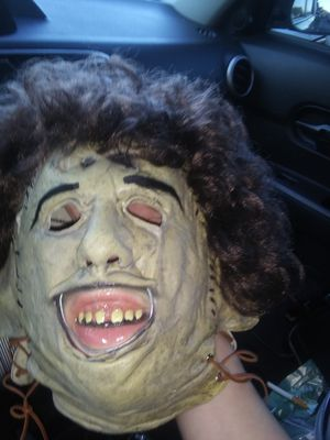 Leatherface mask for Sale in Compton, CA