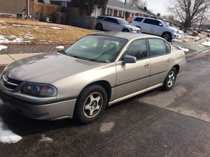 2001 Chevy impala for Sale in Denver, CO