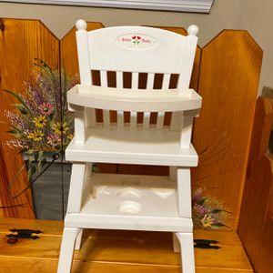 American Girl Doll Bitty baby Highchair for Sale in Wood-Ridge, NJ