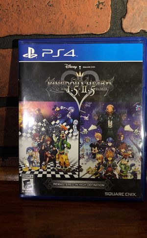 Kingdom Hearts 1.5 & 2.5 PS4 for Sale in Paulsboro, NJ