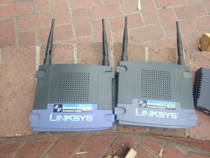 Linksys wireless G broadband routers for Sale in Cypress, CA