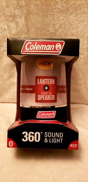 COLEMAN 360 SOUND & LIGHT LANTERN for Sale in Detroit, MI