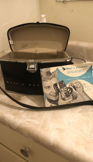 Bell and Howell camera bag and accessories for Sale in Pasadena, CA