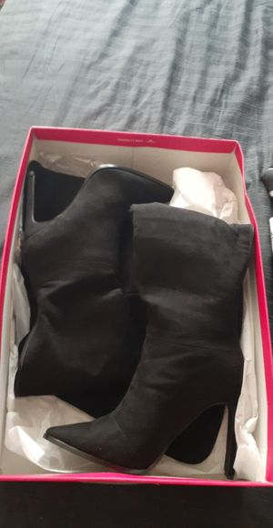 Black high heel boots SIZE 10 for Sale in El Paso, TX