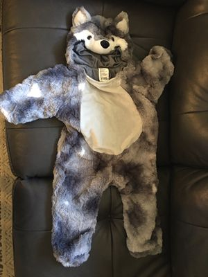 6-12m wolf costume for Sale in Enfield, CT