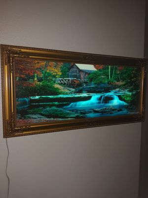 Medetation Electric picture frame was running water bird sounds and Critter sounds for Sale in Hemet, CA