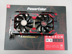 Power color red devil Rx 580 8gb radeon for Sale in Quincy, MA