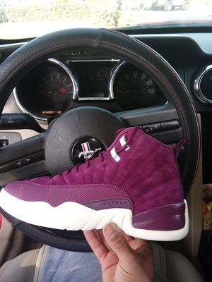 "Jordan 12 retro burgendy size 9"" for Sale in Madera, CA"
