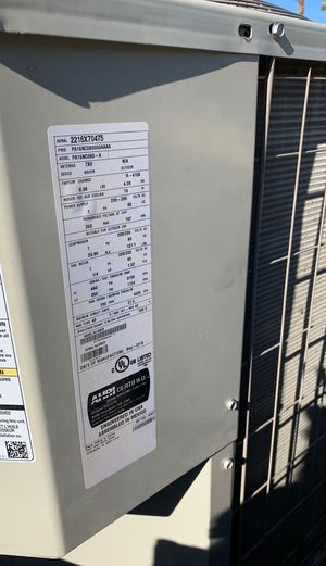 a/c 5 ton 410a freon for Sale in Indio, CA
