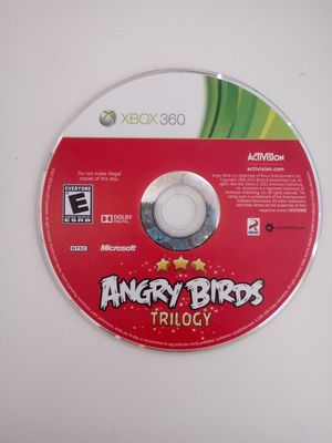 Angry Birds Trilogy   xbox 360 game   excellent working condition for Sale in Lakeland, FL