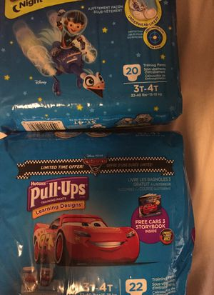Huggies pull up 2 packs 3t-4t for Sale in Elmont, NY