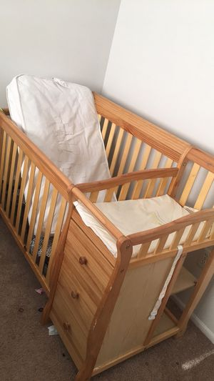 Crib with changing table for Sale in Taylor, MI