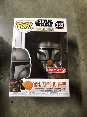 Star Wars funko pop the mandalorian flame thrower Exclusive $30 for Sale in San Antonio, TX