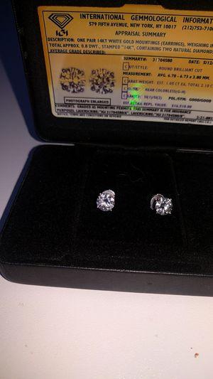 Diamond studs earrings for Sale in Austin, TX