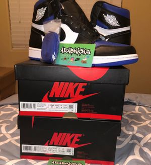 Jordan 1 Royal Toe Size 10.5 for Sale in West Sacramento, CA