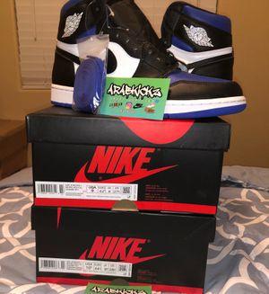 Jordan 1 Royal Toe Size 10.5 for Sale in West Sacramento, CA