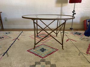 Ballard Design Oval coffee table for Sale in Phoenix, AZ