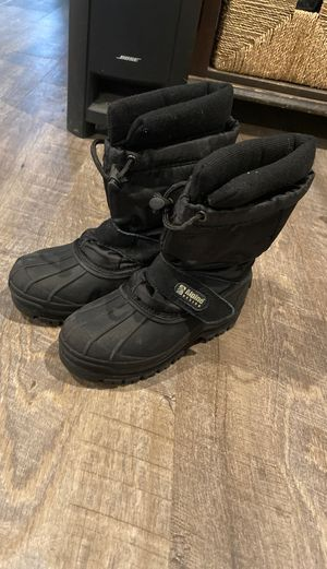 Size 13 kids snow boots for Sale in Orting, WA