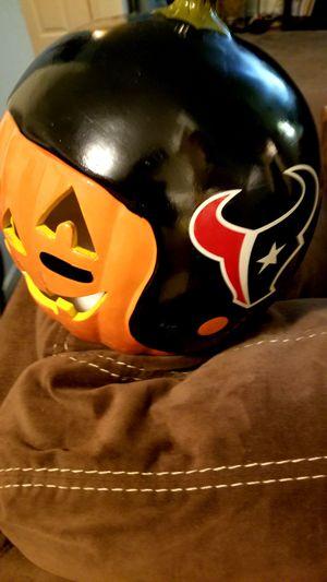 Texans Helment on Pumpkin for Sale in Houston, TX