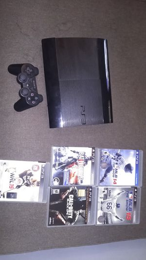 PS3 and five games for Sale in Cleveland, OH