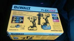 Flexvolt hammer drill and impact for Sale in Albany, NY