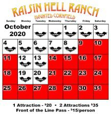 Raisin Hell Ranch Ticket for Sale in Fresno, CA