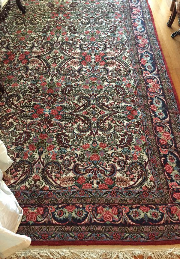7x10FT Handmade Persian Wool Oriental Rug
