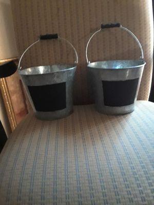 Metal Buckets for Sale in San Antonio, TX