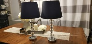 Set of 2 lamps for Sale in Puyallup, WA