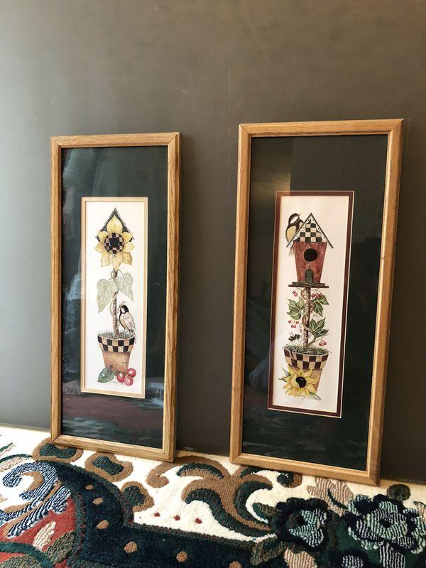 Wall art frames 2 pieces