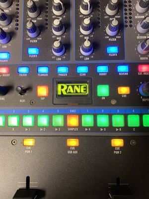 Rane Sixty Two Serato mixer with New Odyssey Flight Case for Sale in St. Cloud, FL