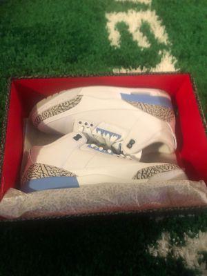 Jordan 3 - UNC - Size 10.5 for Sale in Arlington, VA