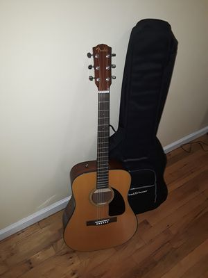 Brand new acoustic guitar Fender with BIG Bag. for Sale in Brooklyn, NY