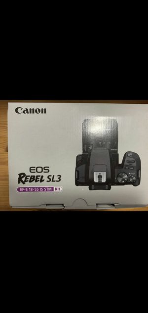 Canon EOS rebel sl3 for Sale in San Diego, CA