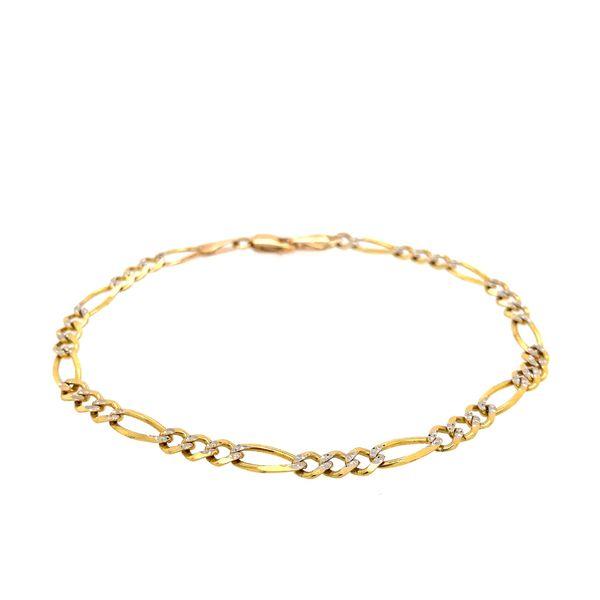 10k Figaro Bracelet