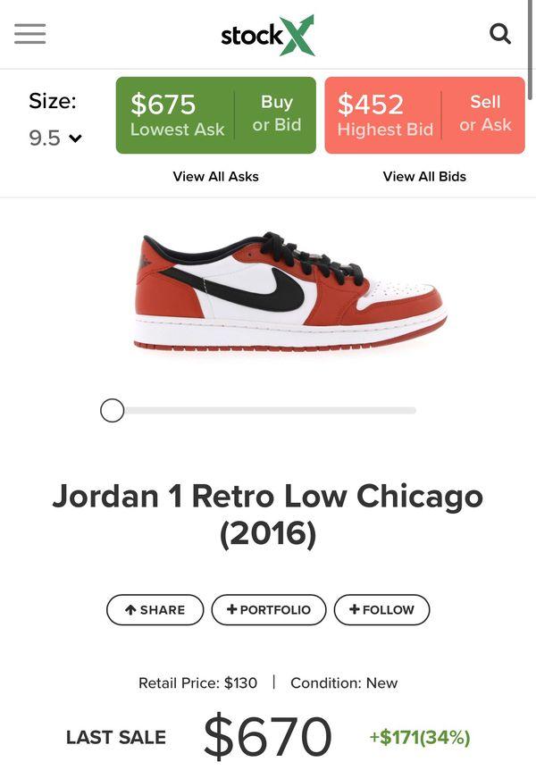 Jordan 1 Chicago Low