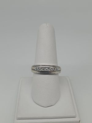 14KT WHITE GOLD RING WITH DIAMONDS for Sale in Riverside, CA