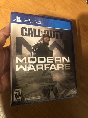 Call of Duty Modern Warfare 2019 PS4 Sealed New for Sale in Fresno, CA