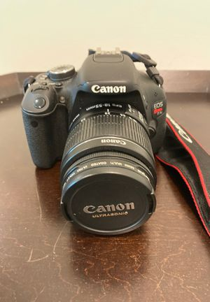 Cannon EOS Rebel T3i with Case and Other Accesories for Sale in Capitol Heights, MD