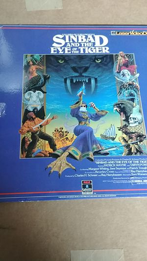 SINBAD AND THE EYE OF THE TIGER LASERDISC for Sale in Hacienda Heights, CA