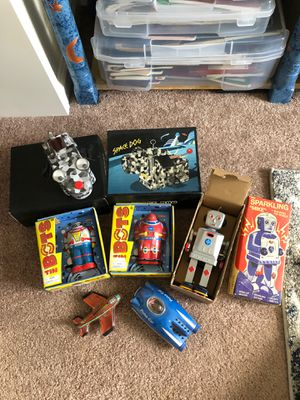 Replica Collection of Tin Toys for Sale in Denver, CO